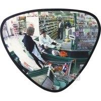 Dreieckspiegel -DETEKTIV AT- aus Acrylglas inkl. Wandhalterung