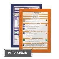 Durable Magnetrahmen -Duraframe-, VE 2Stk., magnetische Vordertasche, selbstkl., wahlw. DIN A4,A3
