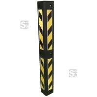 Eckschutzschiene aus PVC, Länge 800 mm, mit reflektierenden Streifen