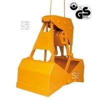 Einseilgreifer -E1081- zum Verladen von Schüttgütern, selbstgreifend, vollautomatisch, 600-1200 L