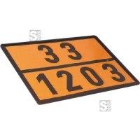 Einstofftafel für Benzin / Super (30 / 1203) gem. GGVS und ADR