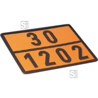 Einstofftafel für Heizöl / Diesel (30 / 1202) gem. GGVS und ADR