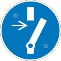 Elektrokennzeichnung / Gebotsschild, Vor Wartung oder Reparatur freischalten