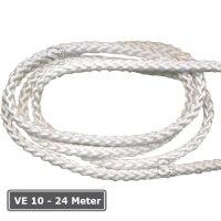 Ersatz-Hissseil (Fahnenseil) -StarTrio-, VE 10 - 24 Meter, Ø 5 mm, weiß, nach DIN 83307