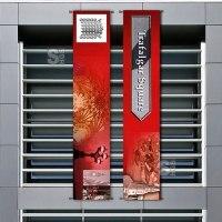 Fahnenhalter -BIG FIX-, Längen 600-1000 mm, für den Innen- und Außenbereich