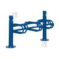 Fahrradständer -Trend- aus Stahl, einseitige Radeinstellung