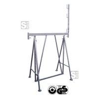 Faltgerüstbock -Universal- U1500, Tragkr. 900 kg, Breite 1,5 m, GS-geprüft, inkl. Geländerpfosten
