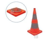 Faltleitkegel -Cone-, Höhe 450 mm mit integriertem Blinklicht