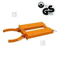 Fassgreifer -F2216- aus Stahl, mit Greiferzange und Verriegelungsautomatik, GS-geprüft