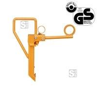 Fassklemme -F2222- aus Stahl, für Fässer mit Ø bis 540 mm, Tragkraft 350 kg, GS-geprüft