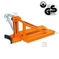 Fasslifter -F2211- aus Stahl, für Fässer bis 800 kg, für 1 Fass mit Ø bis 540 mm, GS-geprüft