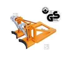 Fasslifter -F2212- aus Stahl, für Stahl- und Kunststoff-Fässer, Tragkraft 800 kg, GS-geprüft