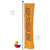 Flagge individuell bedruckt, Stoffqualität FlagTop 110 g / m² oder 160 g / m²