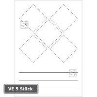 GHS-Symbole zur Selbstbeschriftung, VE 5 Stück