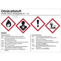 Gefahrstoffetikett, Ottokraftstoff