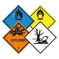 Gefahrzettel nach GGVSE, ADR, RID