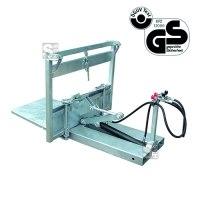 Gitterboxenkipper -G2095- für Gitterbehälter in Euro-Norm, lackiert oder verzinkt
