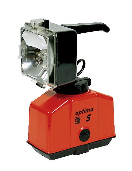 Handscheinwerfer -Optima S-, Oberteil schwenkbar, hohe Lichtausbeute