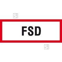 Hinweisschild, FSD