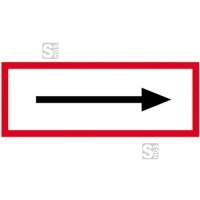 Hinweisschild, Richtungspfeil