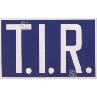 Hinweisschild für den Transitverkehr (TIR-Schild), starr