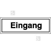 Hinweisschild zur Betriebskennzeichnung, Eingang