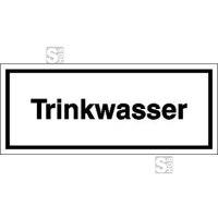 Hinweisschild zur Betriebskennzeichnung, Trinkwasser