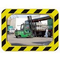 Industriespiegel Vialux® schwarz / gelb gem. EG-Richtlinie CE 92 / 58