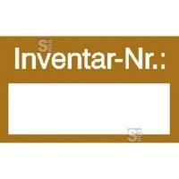 Inventarkennzeichnungsetiketten, Inventar-Nr.:, Bogenware
