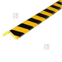 Kantenschutz -Protect Flex- Knuffi® aus PU, Länge 1000 mm, Winkel von 45° bis 160° anpassbar, selbstklebend, extrem abriebfest, verschiedene Farben