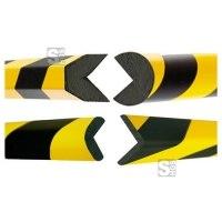 Kantenschutz -Safe- aus PU, Länge 1000 mm, verschiedene Profile, wahlweise selbstklebend oder magnetisch, hochwertig und flexibel
