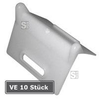 Kantenschutz für Zurrgurte, VE 10 Stück, aus PE, für Gurtbreiten bis 50 mm, Winkel 90°