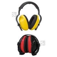 Kapselgehörschützer -ClassicLine-, 27 dB SNR, gem. DIN-EN 352-1:2002, Kopfbügel wahlweise faltbar