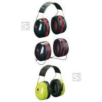 Kapselgehörschützer -Deaf III-, 35 dB SNR, wahlweise als Kopfbügel oder Nackenbügel
