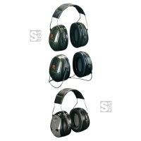 Kapselgehörschützer -Deaf II-, 31 dB SNR, wahlweise als Kopfbügel, PTL-Kopfbügel oder Nackenbügel