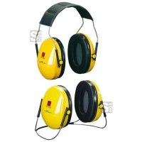 Kapselgehörschützer -Deaf I-, 27 dB SNR, wahlweise als Kopfbügel oder Nackenbügel