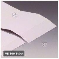 Kartonstreifen für Permaflex C-Profile, VE 100 Stück, magnetisch