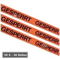 Kennzeichnungsklebeband, VE 6 - 36 Rollen, Breite 50 mm, Länge 66 m