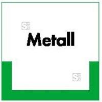 Kennzeichnungsschild Metall
