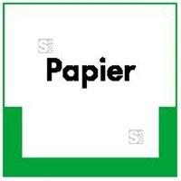 Kennzeichnungsschild Papier