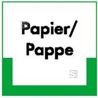 Kennzeichnungsschild Papier / Pappe