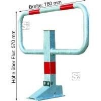 Kipp-Pfosten -SESAMprivat-, 780 mm breit