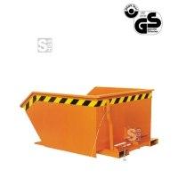 Kippbehälter -K2012- mit niedriger Bauhöhe, 300-1500 Liter, lackiert oder verzinkt
