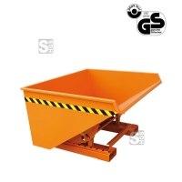 Kippbehälter -K2023-, 150-2500 Liter, lackiert oder verzinkt