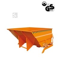 Kippbehälter -K2024- extragroß und massiv, 3000-5000 Liter, lackiert oder verzinkt