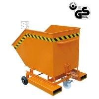 Kippbehälter -K2041- mit Rollen, 200-1000 Liter, lackiert oder verzinkt