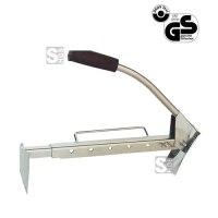 Klinkerträger -K1503-, Tragkraft 60 kg, Öffnungsweite 400-670 mm, lackiert oder verzinkt