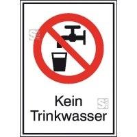 Kombischild, Kein Trinkwasser