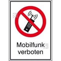 Kombischild, Mobilfunk verboten