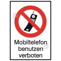 Kombischild, Mobiltelefon benutzen verboten